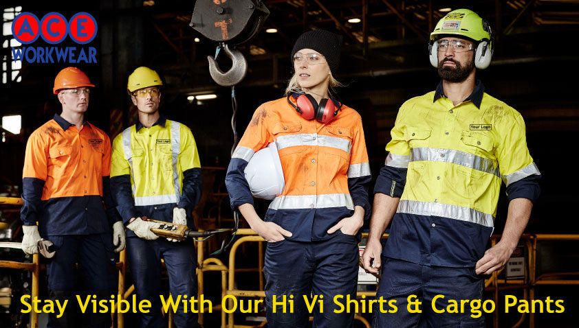 Stay Visible With Our Hi Vis Shirts & Cargo Pants