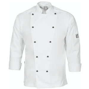 DNC Unisex Traditional Chef Long Sleeve Jacket (1102) - Ace Workwear