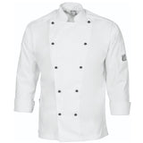DNC's Unisex Traditional Chef Long Sleeve Jacket - Ace Workwear