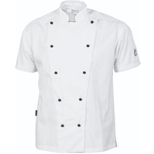 DNC Cool-Breeze Cotton Chef Short Sleeve Jacket (1103) - Ace Workwear