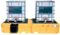 PRATT IBC Spill Pallet Twin Side By Side 2 Tank (1144)