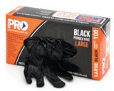 Extra Heavy Duty Nitrile Glove (MDNPFHD) - Box (100pcs) - Ace Workwear