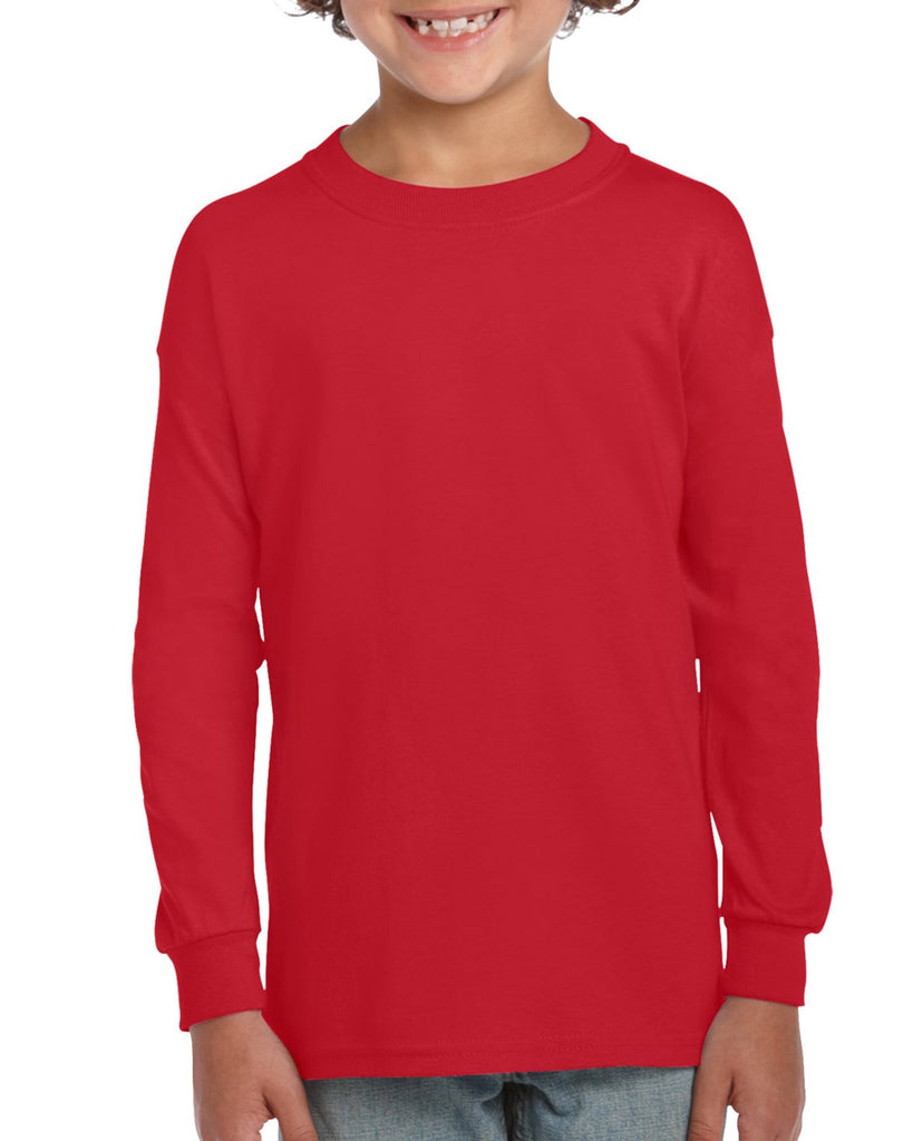 Gildan Ultra Cotton Youth Long Sleeve T-Shirt - Ace Workwear