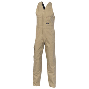 Cotton Drill Action Back Coverall (3121)