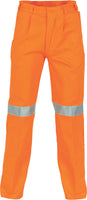 DNC's Cotton Drill Pants With 3M Reflective Tape - Ace Workwear