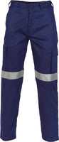 DNC's Light Weight Cotton Cargo Pants with 3M Reflective Tape - Ace Workwear