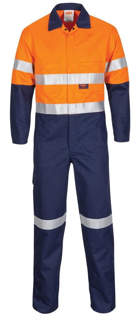 DNC Patron Saint Flame Retardant Coverall with 3M F/R Tape (3426) - Ace Workwear