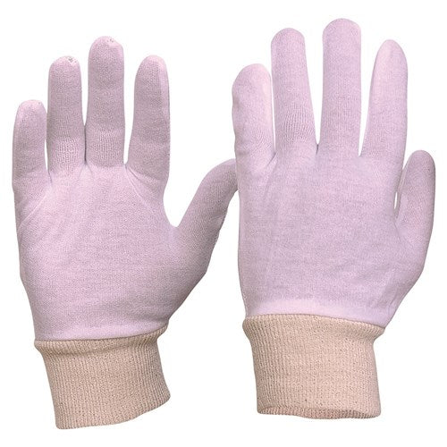 Pro Choice Interlock Poly/Cotton Liner Knit Wrist Gloves - Pack (12 Pairs) (342CLK) - Ace Workwear (4423586709638)