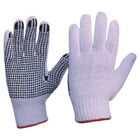 Pro Choice Knitted Poly/Cotton With PVC Dots Gloves - Carton (300 Pairs) (342KPD) - Ace Workwear