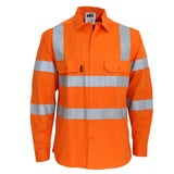 Hi Vis 3 Way Cool-Breeze VIC Rail Shirt (3543) - Ace Workwear