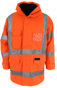 "DNC HiVis ""6 in 1"" Breathable Rain Jacket Biomotion (3572)"