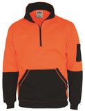 DNC HiVis 1/2 Zip Super Fleecy (3724) - Ace Workwear