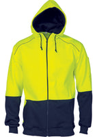DNC HiVis Contrast Piping Fleecy Hoodie (3728)