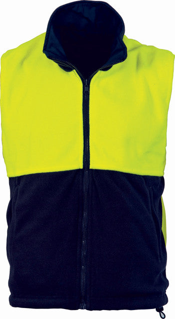 Hi Vis Two Tone Reversible Vest (3826) - Ace Workwear