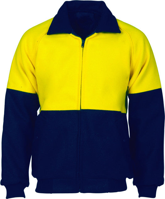 Hi Vis Two Tone Bluey Bomber Jacket (3869) - Ace Workwear