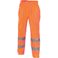 Hi Vis D/N Breathable Rain Pants with 3M Reflective Tape (3872) - Ace Workwear