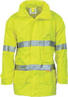 Hi Vis Breathable Anti-Static Jacket with 3M Reflective Tape (3875) - Ace Workwear