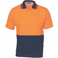 DNC Hi Vis Cool Breeze Cotton Jersey Food Industry Polo Short Sleeve (3905) - Ace Workwear