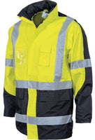 "DNC HiVis Cross Back 2 Tone D/N ""2 in 1"" Contrast Jacket (3993)"