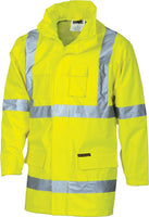 "Hi Vis Cross Back Day & Night ""2 in 1"" Rain Jacket (3995) - Ace Workwear"