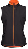 JB's Ladies Podium Water Resistant SoftShell Vest (3WSV1) - Ace Workwear