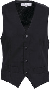 DNC's Mens Black Waiters Vest