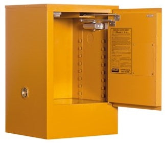 PRATT Class 4 Dangerous Goods Storage Cabinet 30L 1 Door, 1 Shelf (5516AC4) - Ace Workwear