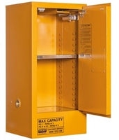 PRATT Oxidizing Agent Storage Cabinet 60L 1 Door, 2 Shelf (5517AOA) - Ace Workwear