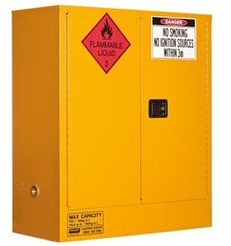 PRATT Flammable Storage Cabinet 160L 2 Door, 2 Shelf (5530AS)