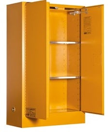 PRATT Organic Peroxide Storage Cabinet 100L 2 Door, 3 Shelf (5545APO) - Ace Workwear