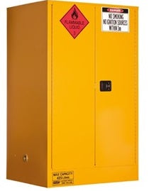 PRATT Flammable Storage Cabinet 425L 2 Door, 3 Shelf (5590AS) - Ace Workwear