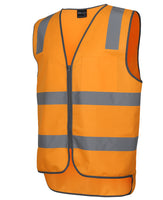 JB's Hi Vis Aust Rail Day & Night Safety Vest (6DVTV)