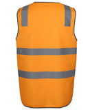 JB's Hi Vis Aust Rail Day & Night Safety Vest (6DVTV) - Ace Workwear (1714129502252)
