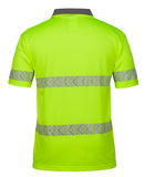 JB's Hi Vis Short Sleeve Arrow Sub Polo With Segmented Tape - Ace Workwear