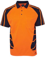JB's Hi Vis Spider Polo Short Sleeve (6HSP) - Ace Workwear