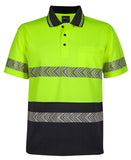 JB's Hi Vis Short Sleeve Segmented Tape Polo (6HSST) - Ace Workwear (3967064637484)