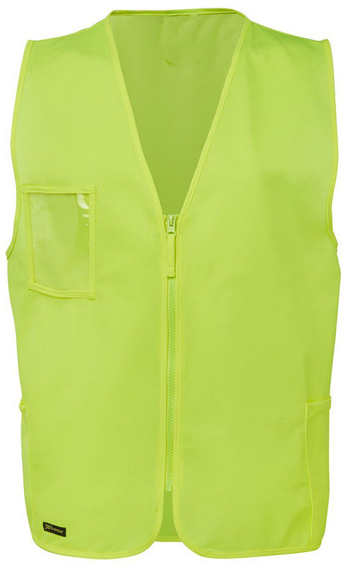 JB's Hi Vis Zip Safety Vest (6HVSZ) - Ace Workwear (10265712333)