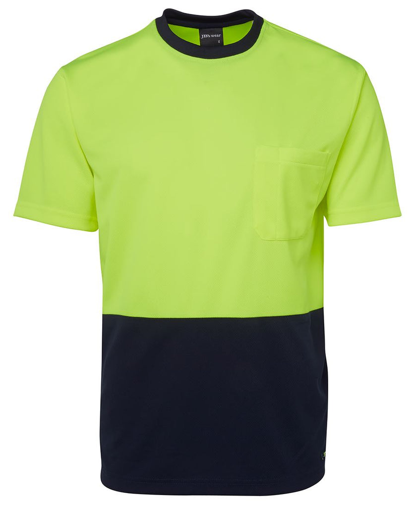 JB's Hi Vis Traditional T-Shirt (6HVT) - Ace Workwear (3949813792812)