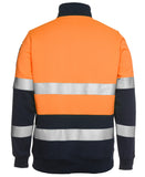JB's Hi Vis 1/2 Zip Day & Night Fleecy Sweat (6HZFS) - Ace Workwear (1760063291436)