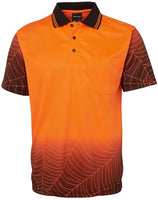 Hi Vis Web Polo Short Sleeve (6WPS) - Ace Workwear