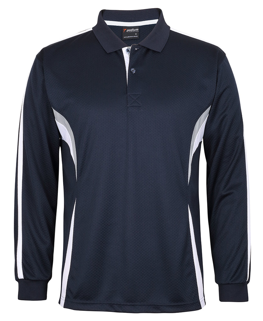JB's Podium L/S Cool Polo (7CLP)