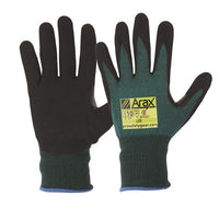 Pro Choice Arax® Green Nitrile Sand Dip Palm - Pack (12 Pairs) (AGND) - Ace Workwear