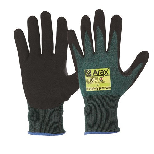 Pro Choice Arax® Green Nitrile Sand Dip Palm - Carton (120 Pairs) (AGND) - Ace Workwear