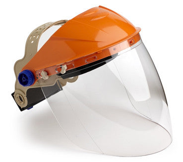 Assembled Browguard with Clear Visor - Ace Workwear