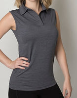 Beseen The Premium Range Ladies Sleeveless Polo - Ace Workwear