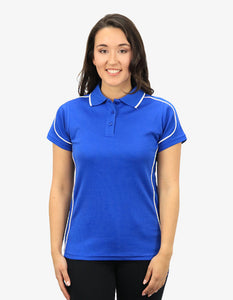 Beseen Ladies Contrasting Piping Polo (BSP09L)