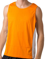 Beseen Singlet with Contrast Side Panels - Ace Workwear