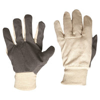 Pro Choice Cotton Drill Vinyl Palm Gloves Large - Carton (240 Pairs) (CDVP) - Ace Workwear