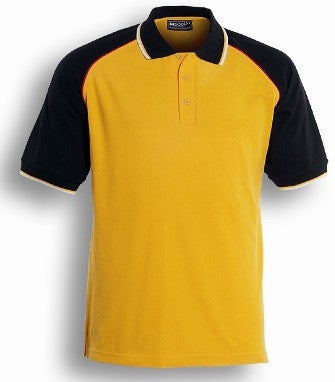 Bocini Unisex Adults Three Tone Polo (CP0360) - Ace Workwear