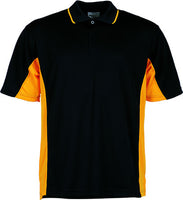 Mens Breezeway Panel Polo (CP0528) - Ace Workwear